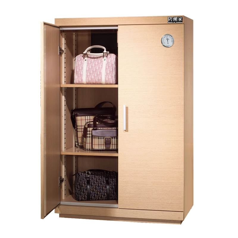 SH-390 White Oak Dry Box for Leather Bags/Shoes